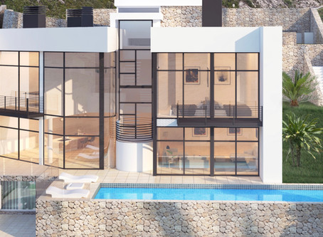 Villa Panorama in Altea Hills is now also on the market for 1.495.000€.
