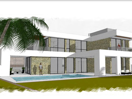 Here is a new designs for one of our clients in Portocolom - Mallorca