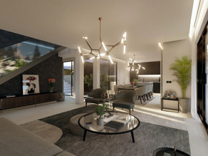 Interior design of one of the new villas we offer in Mallorca now!