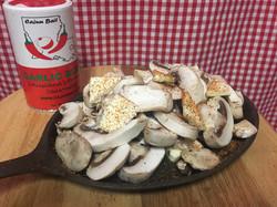 Mushrooms with Garlic Blend