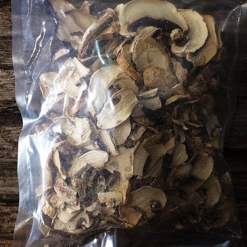 Dried Sliced Button Mushrooms