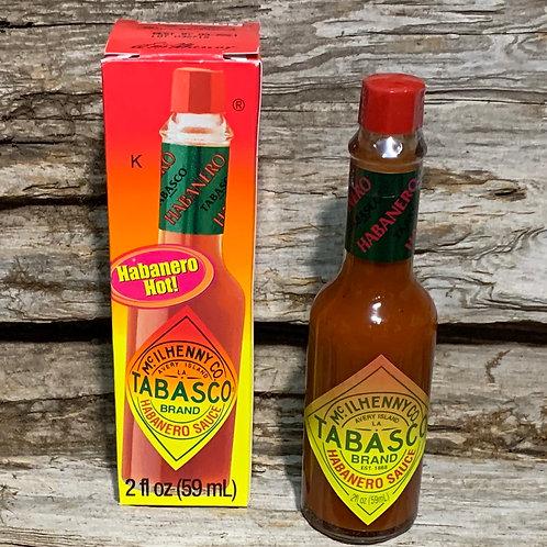 Tabasco Habanero Hot Sauce 2oz