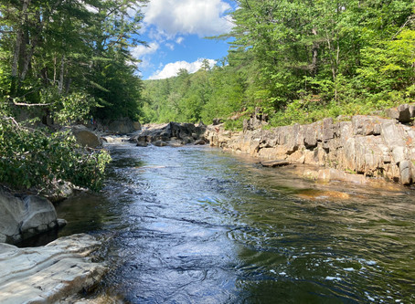 Canyons, Waterfalls & Scenic Lakes in Oxford County