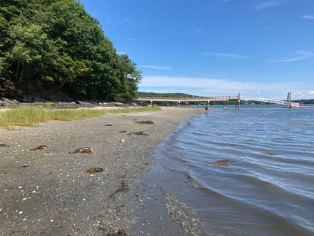 Surprise, there's a beach in Cumberland.