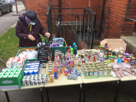 The huge array of items to choose from (thank-you All Saints).