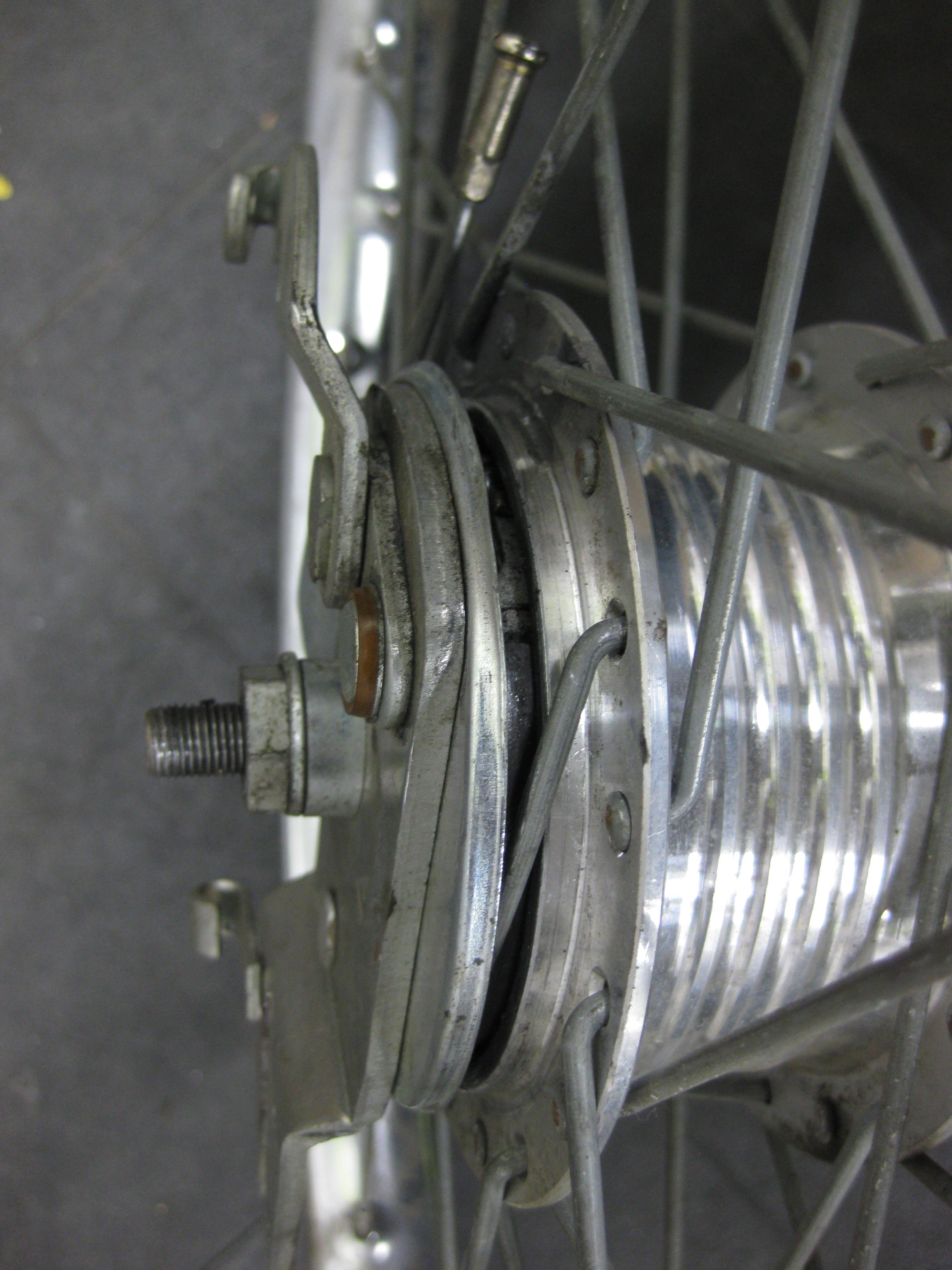 Broken Front Hub