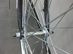 Re-spaced Front Hub