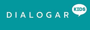 Logo Dialogar KIDS 2 - Retangular com ba