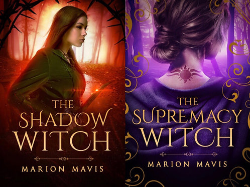 The Supremacy Witch & The Shadow Witch Book Combo