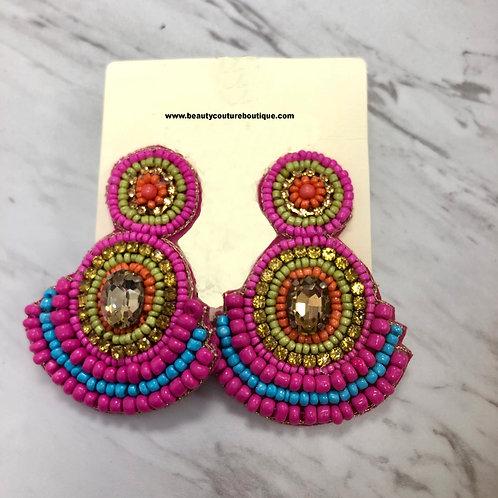 Multicolor Summer Earring