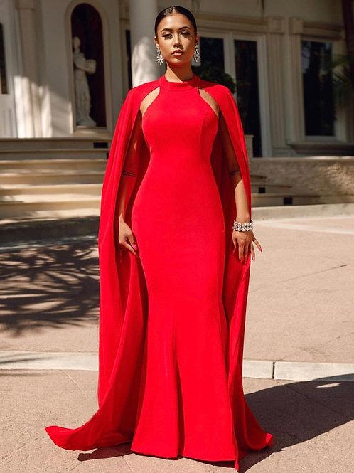 Love Sea Maxi Red Dress