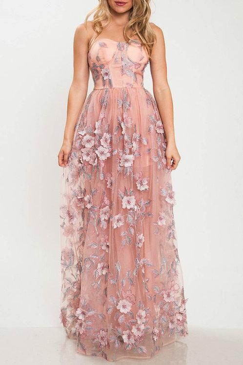Allies Flower Blooming Dress