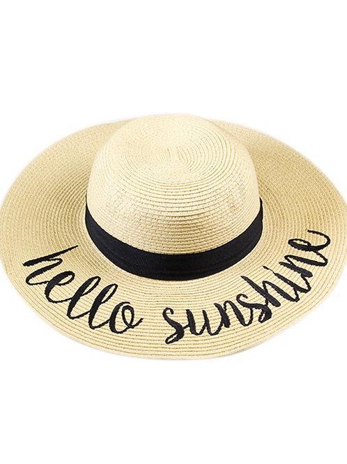 Hello Sunshine Hat Natural Color