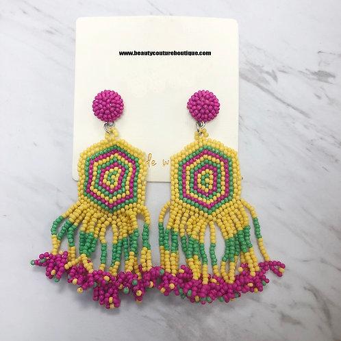 Multicolor Fashion Earring