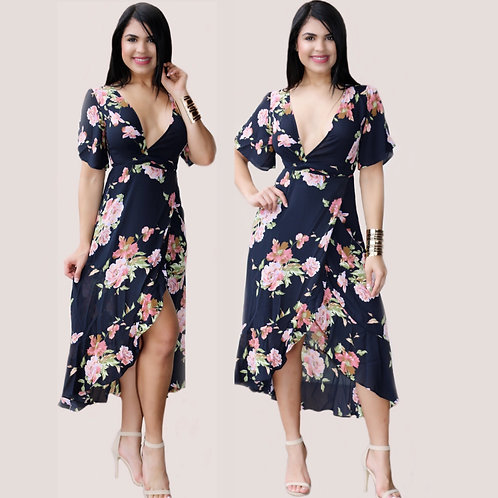 Pia Floral Dress