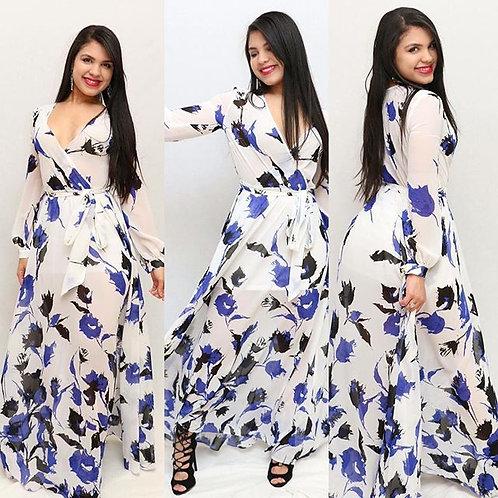 Dorothy Floral Maxi Dress