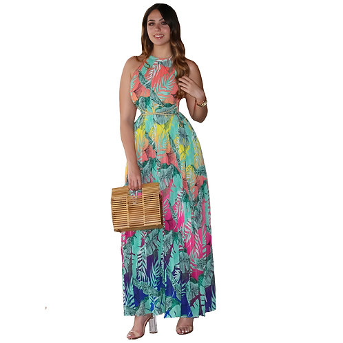 Noemi Maxi Drees Multicolor