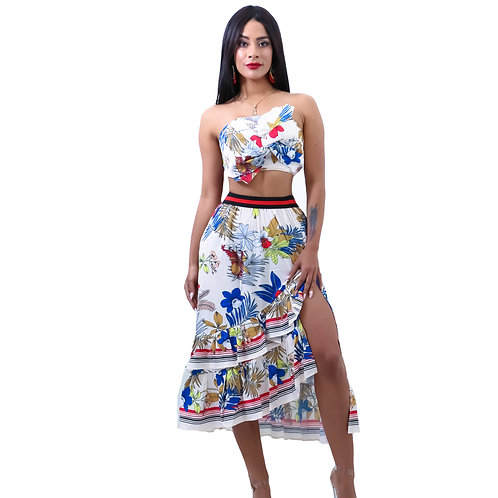Amelia Floral Skirt Set