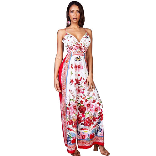 Camila Floral Jumpsuit