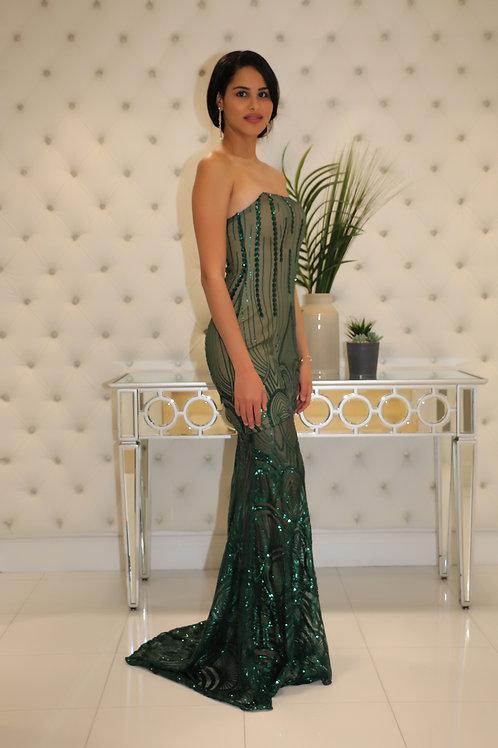 Biki Lace Maxi Dress