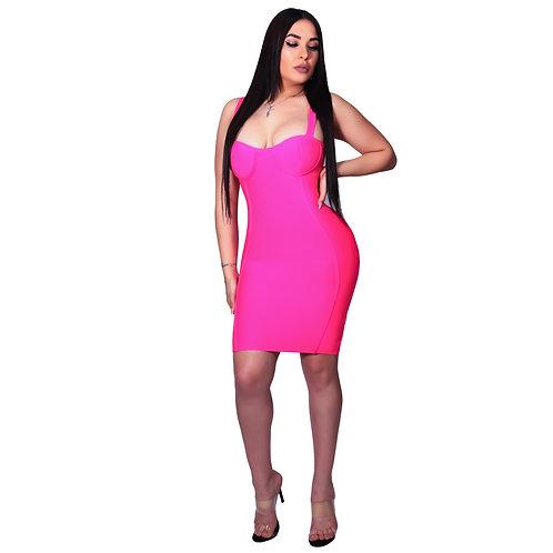 Dory Bandage Neon Pink