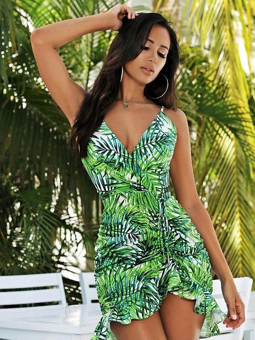 Dana Palm Dress