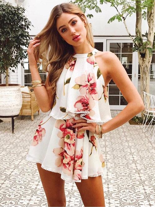 Mila Floral Romper