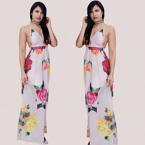Viviana Floral Maxi dress