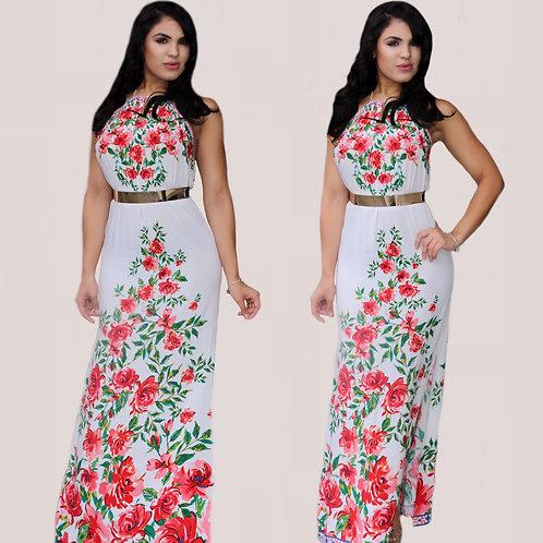 San Maxi Floral Dress