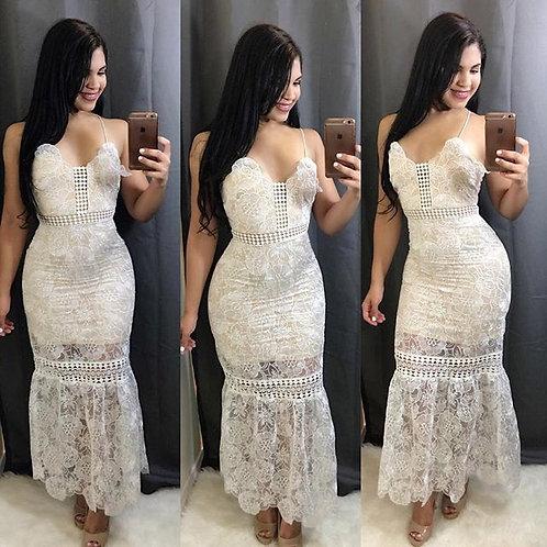 Luviana maxi lace dress
