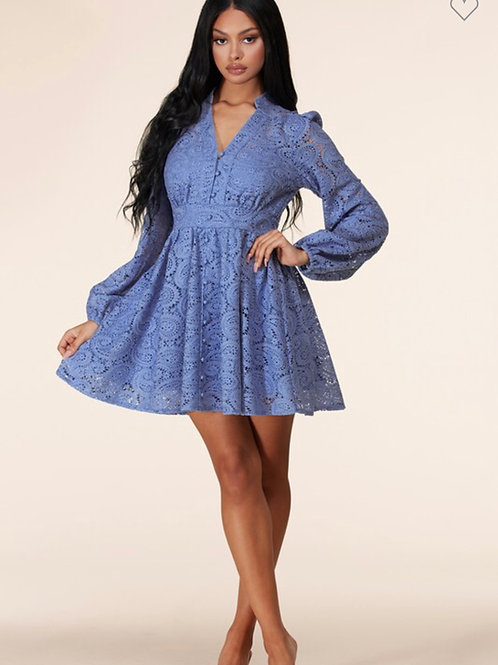Camila Crochet Lace Dress