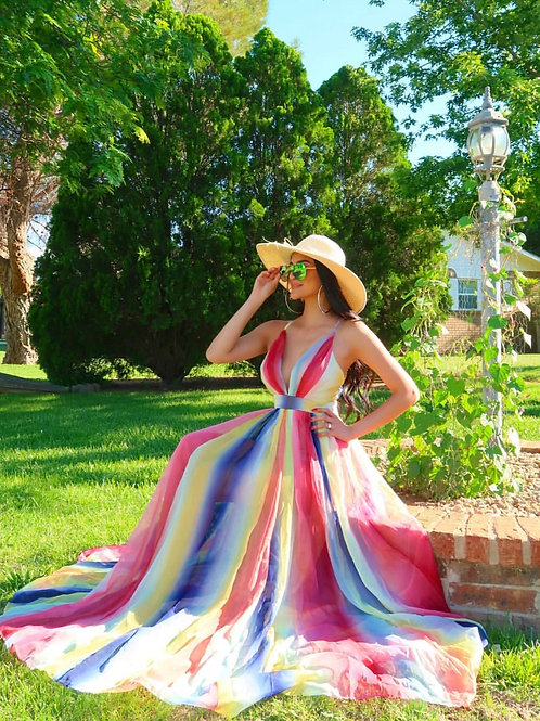 Laura Multi Color Maxi