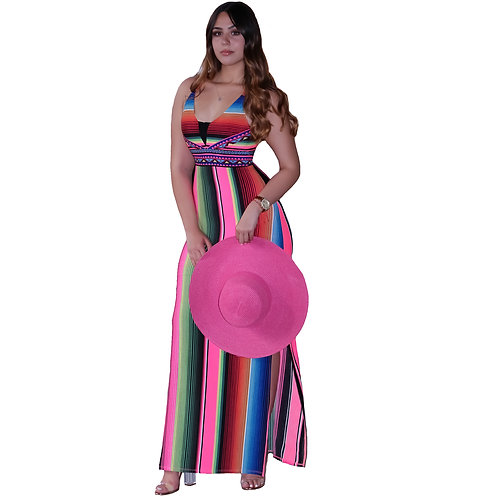 Noelia Multicolor Maxi Dress