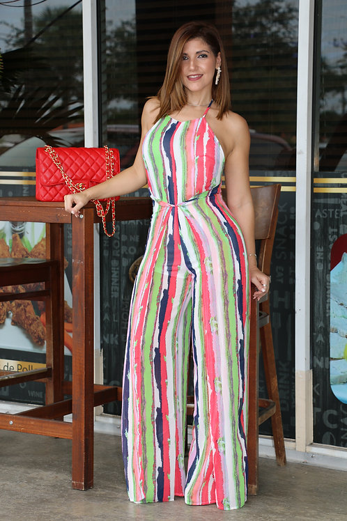 Margaret Multi Color Jumpsuit