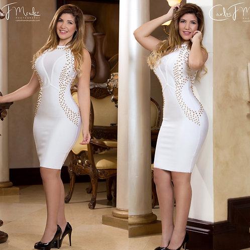 Paloma White Bandage Dress