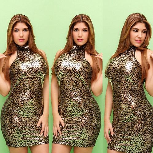 Hot Sparkling Cheata Dress