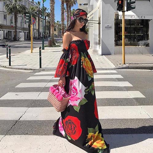 Devora Floral Maxi Dress