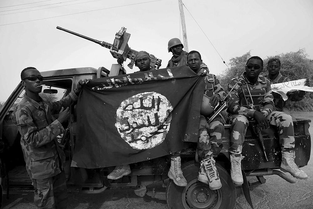 Kämpfer der Miliz Boko Haram in Nigerien