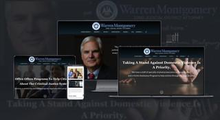 District Attorney, Warren Montgomery Website Design and Development