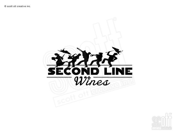 Second Line Wines LOGO