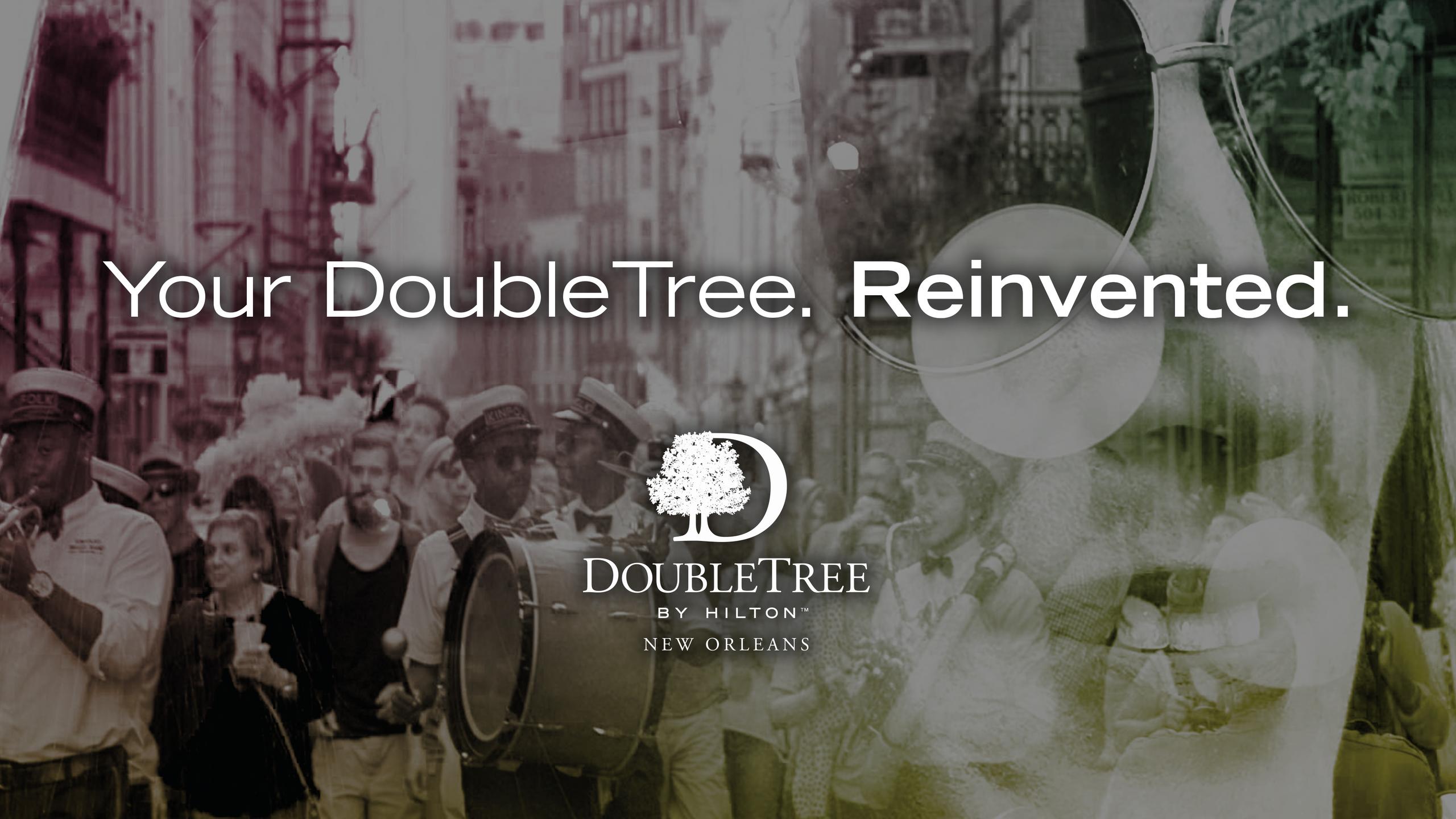 #doubletreedoubletake header design