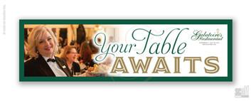 YOUR TABLE AWAITS