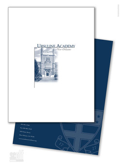 Ursuline Academy New Orleans - Viewbook and Folder