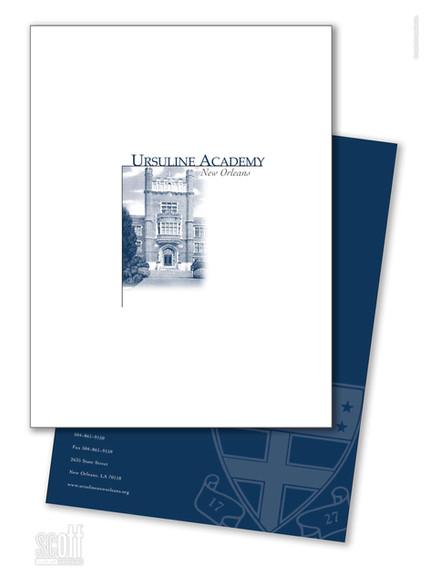 Ursuline Academy New Orleans - Viewbook and Folder