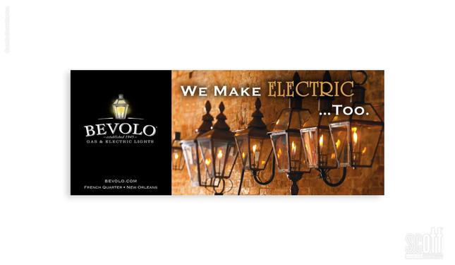 BEVOLO - ELECTRIC TOO digital campaign