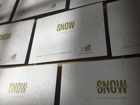 Happy Holidays from scott ott creative inc.