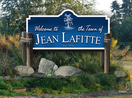Town of Jean Lafitte WELCOME SIGNAGE