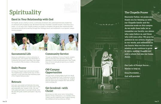 2020 Archbishop Chapelle High School View Book