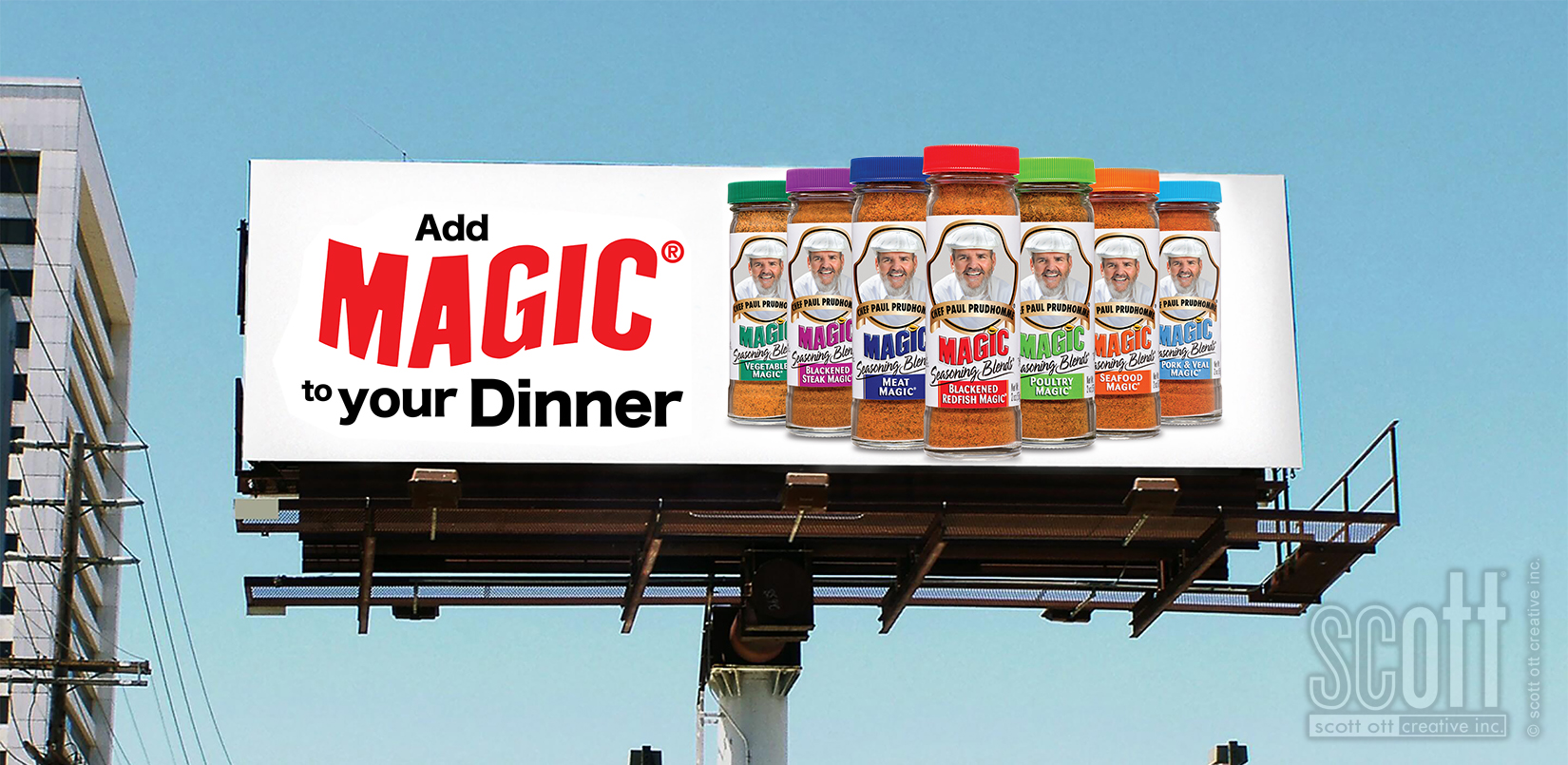 MAGIC to  dinner outdoor board - scot