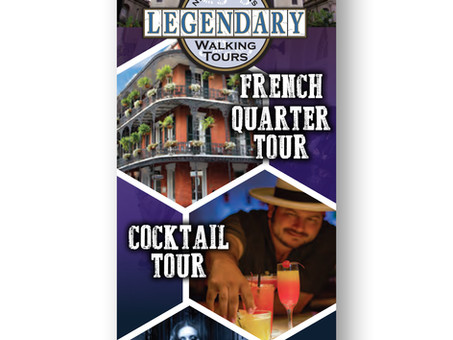 New Orleans Legendary Walking Tours Ad